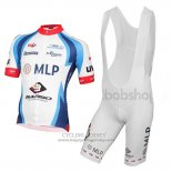 2015 Jersey MLP Team Bergstrasse White And Blue