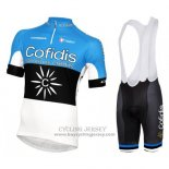 2016 Jersey Cofidis Sky Blue And Black