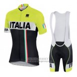 2016 Jersey Italy Black And Yellow