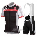 2016 Jersey Women Castelli Black And Red