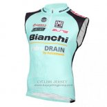 2016 Wind Vest Bianchi Blue And Black