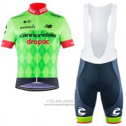 2017 Jersey Cannondale Drapac Green