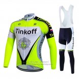 2017 Jersey Tinkoff Long Sleeve Bright Green