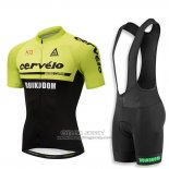 2018 Jersey Cervelo Green and Black
