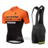 2018 Jersey Cervelo Orange and Black