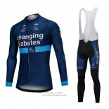 2018 Jersey Changing Diabetes Long Sleeve Blue