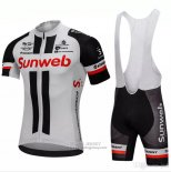 2018 Jersey Sunweb Gray and Black