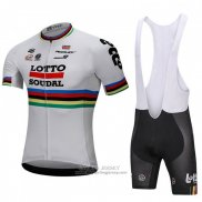 2018 Jersey UCI Mondo Champion Lotto Soudal White