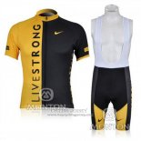 2009 Jersey Livestrong Black And Yellow