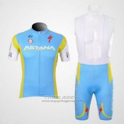 2012 Jersey Astana Light Blue