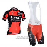 2014 Jersey BMC Red And Black