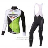 2014 Jersey Multivan Merida Long Sleeve Green And White
