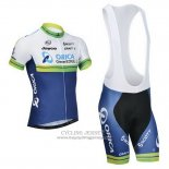 2014 Jersey Orica GreenEDGE White And Blue