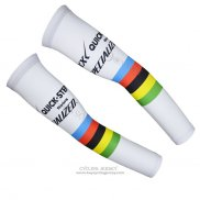 2015 Etixx Quick Step Arm Warmer White