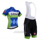 2015 Jersey Garmin Blue And White
