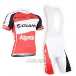 2015 Jersey Giant Alpecin Red And White