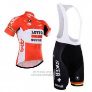 2015 Jersey Lotto Soudal White Red