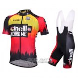 2016 Jersey Cinelli Chrome Red And Black