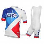 2016 Jersey FDJ White And Red