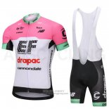 2018 Jersey Cannondale Drapac White and Pink