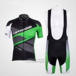 2012 Jersey Cannondale Black And Green