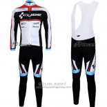 2012 Jersey Cube Long Sleeve Black And White