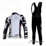 2012 Jersey Nalini Long Sleeve Black And White