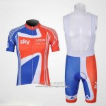 2012 Jersey Sky Champion Regno Unito Orange And Blue
