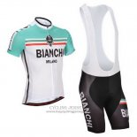2014 Jersey Bianchi White And Green