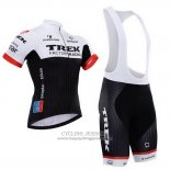2015 Jersey Trek Factory Racing Factory Racing White And Black