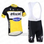 2016 Jersey Etixx Quick Step Black And Yellow