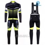 2016 Jersey Santini Long Sleeve Yellow And Black