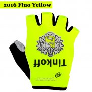 2016 Saxo Bank Tinkoff Gloves Corti Yellow