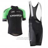 2017 Jersey Orbea Black and Green