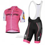 2017 Jersey Quick Step Pink