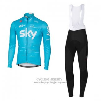 2017 Jersey Sky Long Sleeve Sky Blue