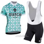 2017 Jersey Women Bianchi Green And White