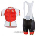 2017 Jersey Women Castelli Maratona Red And White