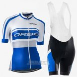 2017 Jersey Women Orbea Blue And White
