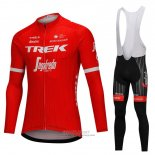 2018 Jersey Trek Segafredo Long Sleeve Red
