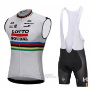 2018 Wind Vest Lotto Soudal White