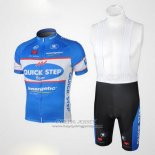 2010 Jersey Quick Step Floor Sky Blue