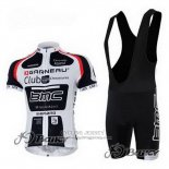 2011 Jersey BMC White And Black