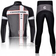 2011 Jersey Cannondale Long Sleeve Gray
