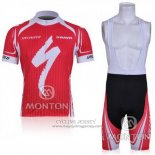 2011 Jersey Specialized White And Red