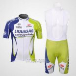 2012 Jersey Liquigas Cannondale Green And White