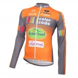 2015 Jersey Color Code ML Long Sleeve Orange