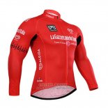 2015 Jersey Giro d'Italia Long Sleeve Red