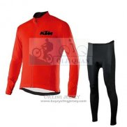 2015 Jersey KTM Long Sleeve Red