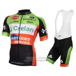2016 Jersey Crelan AA Red And Green